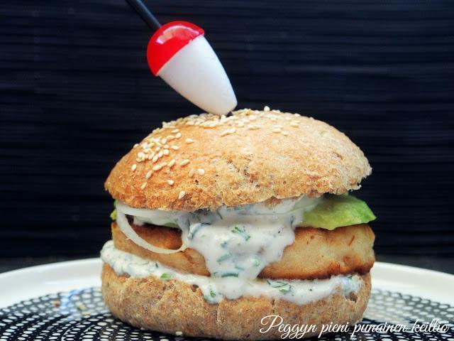 burger — Peggyn pieni punainen keittio