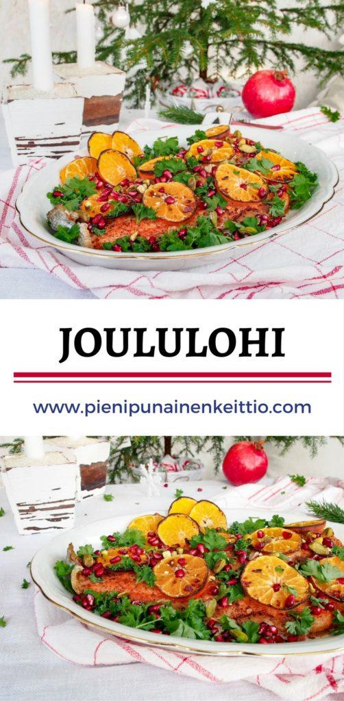 Joululohi — Peggyn pieni punainen keittio