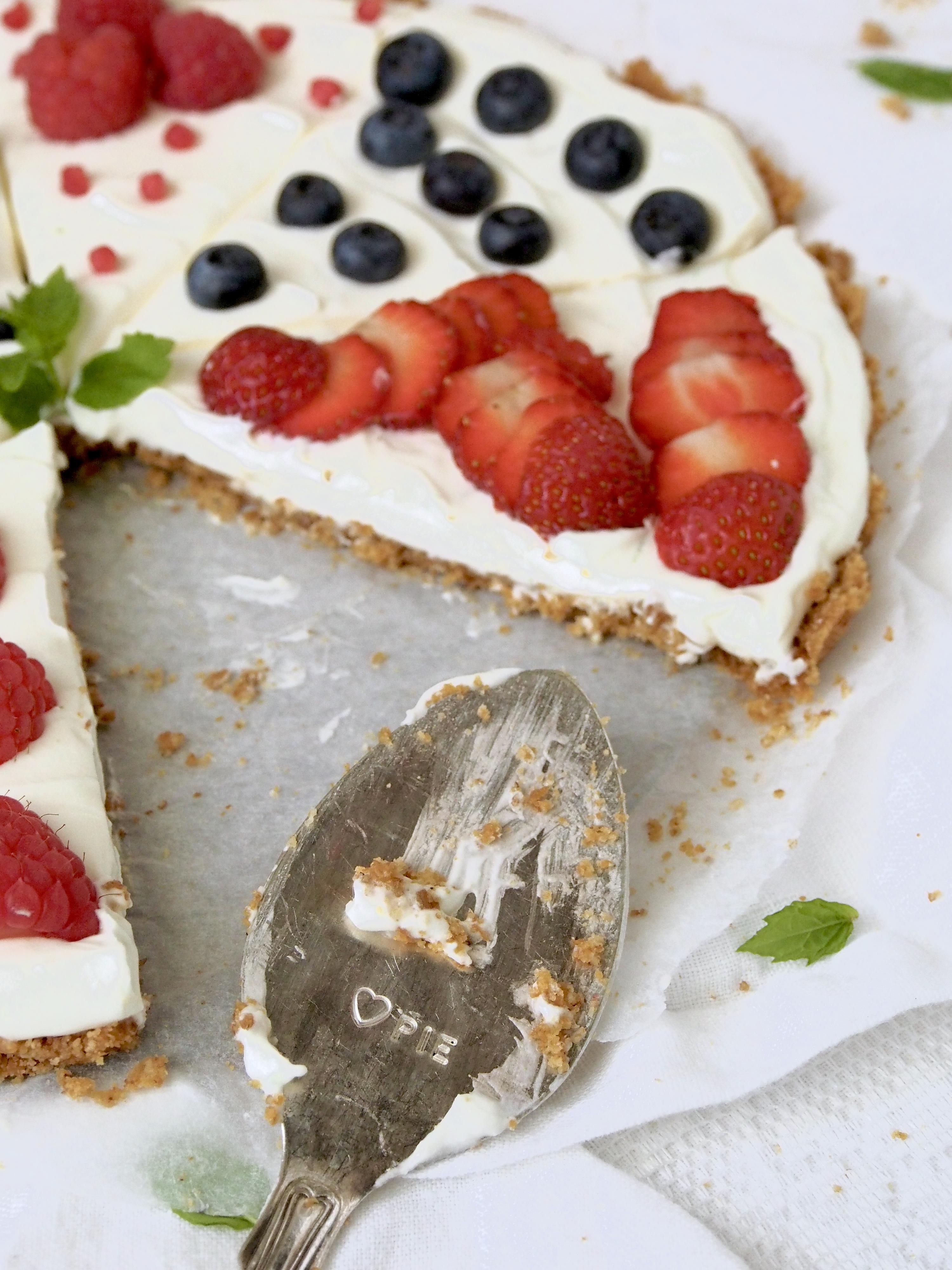 Marjapiirakka — Peggyn pieni punainen keittio